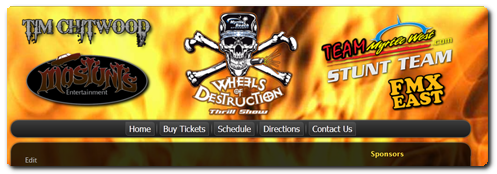 Wheels of Destruction Thrill Show